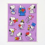 Snoopy & Woodstock Valentine's Day Stickers