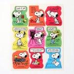 Snoopy & Woodstock Hello Stickers