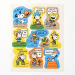 Peanuts Cowboys Stickers