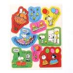 Peanuts Carnival Stickers