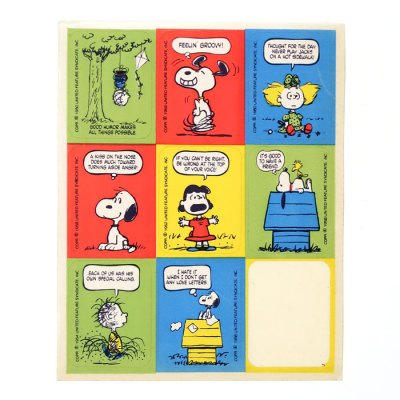 Peanuts Philosophy Stickers