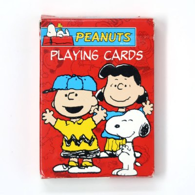 Peanuts Gang Dancing Playing Cards