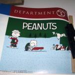 Peanuts Department 56 Display Sign