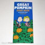 Peanuts The Great Pumpkin Storybook from Duracell