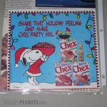 Snoopy Christmas Chex Ad