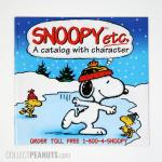 Snoopy Etc Catalog - Snoopy and Woodstocks Skating