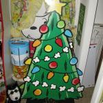 Peanuts Christmas Tree Standup