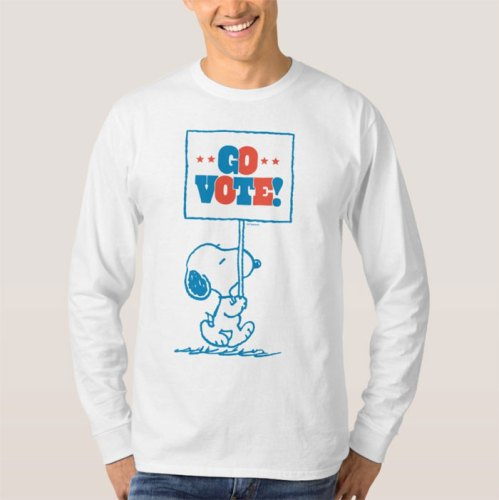 Vote Snoopy for President Shirts
