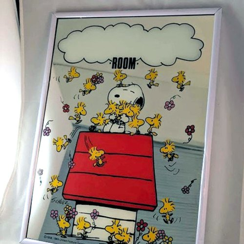 snoopy-personalized-mirror