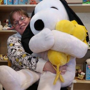 Giant Snoopy & Woodstock Plush