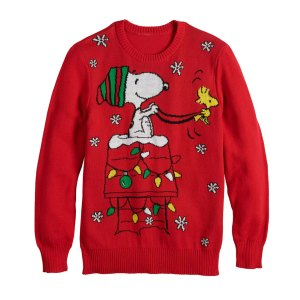 Peanuts Christmas Shirts from Kohl's