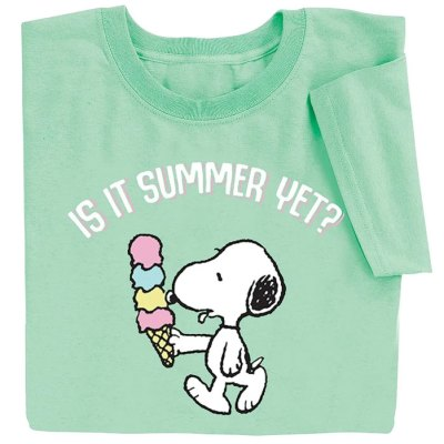 Peanuts apparel at Collections Etc.