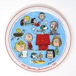 Peanuts 30th Anniversary Plate