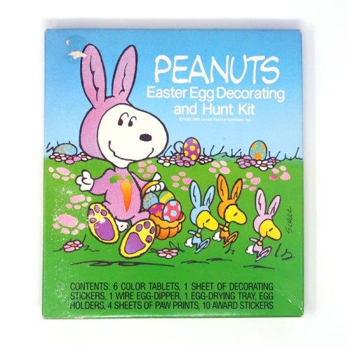 Peanuts Easter Egg Decorating Kit