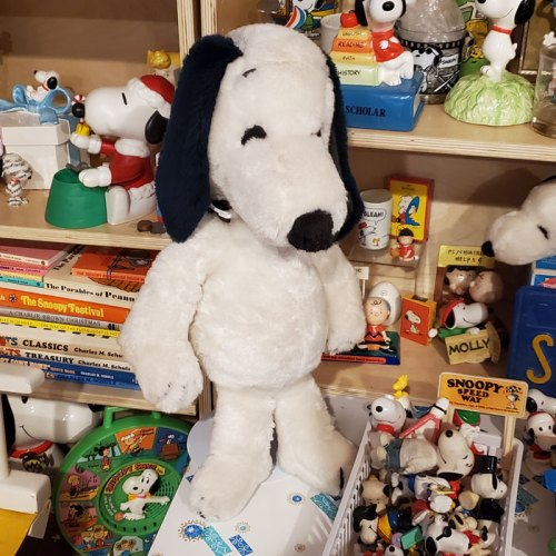 Snoopy Standing Tall