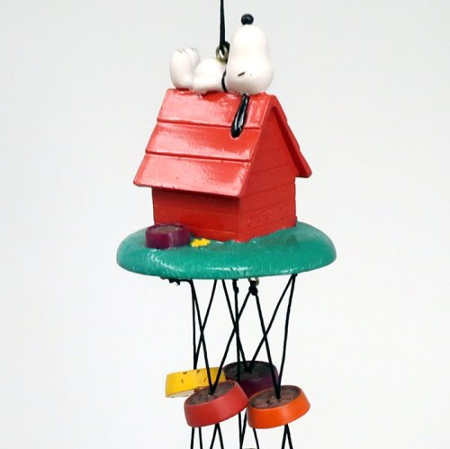 Snoopy Doghouse Wind Chime