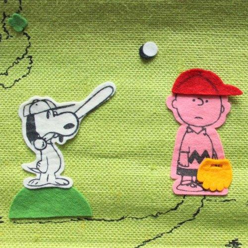 Peanuts Burlap Bulletin Board
