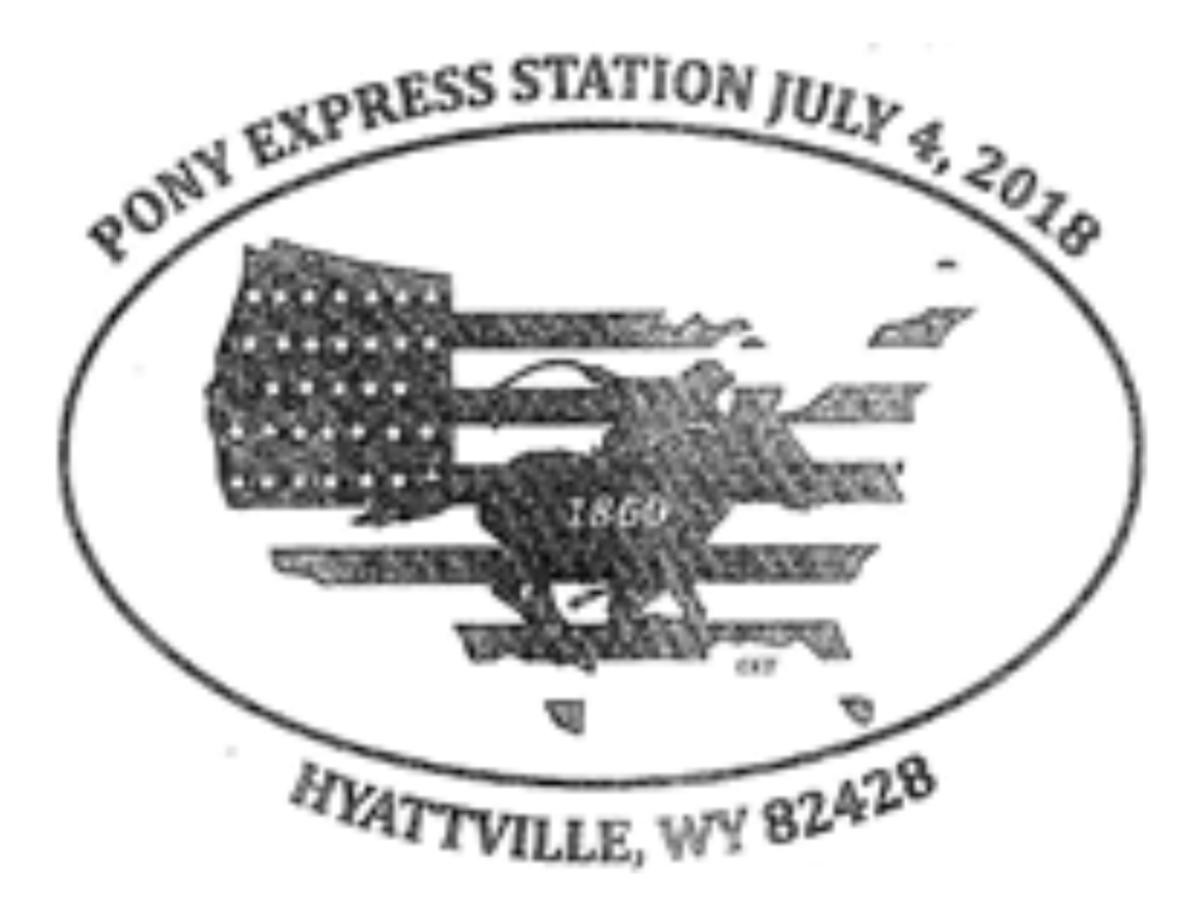 Pony Express Station Hyattville Wyoming