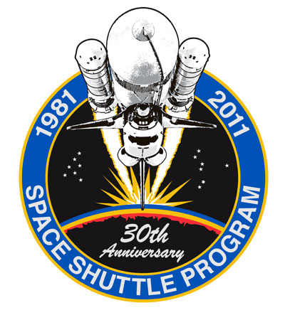 STS1 Shuttle Program 30th anniversary patch