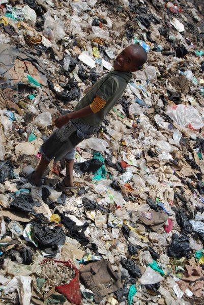 Boy in the slums, 2012. (c) Colleen Briggs