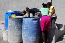 water source in Port au Prince