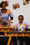 Mandy & Chamu on the Marimbas
