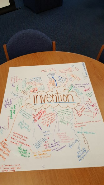 Students define Invention