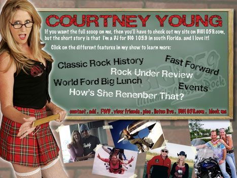Courtney Young\'s MySpace Layout