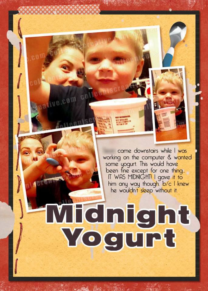 2013 Week in the Life - Yogurt
