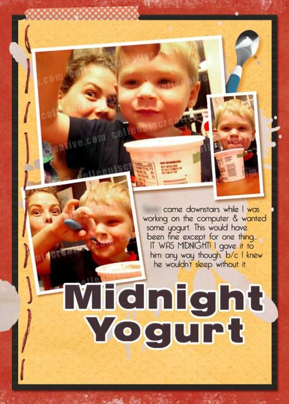 2013 Week in the Life - Yogurt
