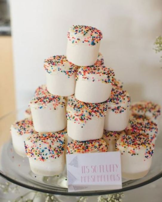 marshmallow sprinkles