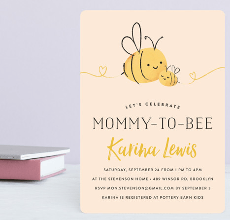 mommy to bee theme baby shower