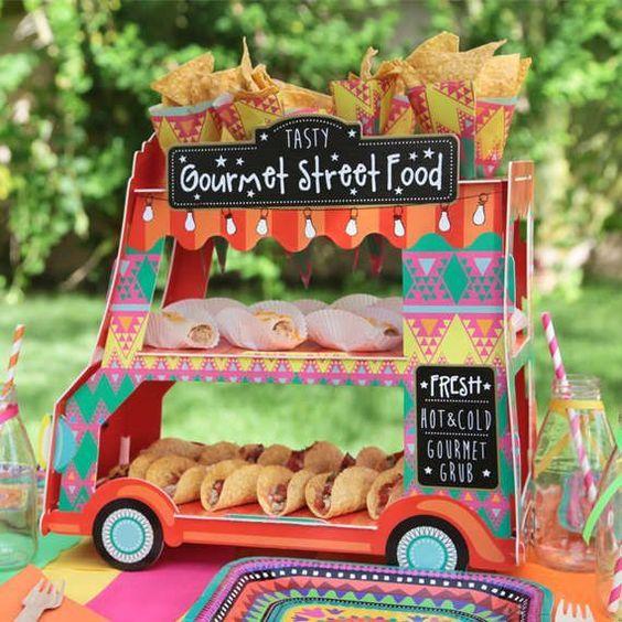 cute taco street truck