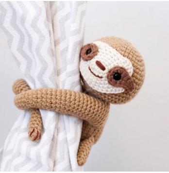 cute sloth crochet pattern