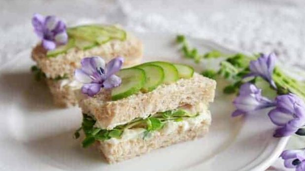 cucumber finger sandwiches for brunch
