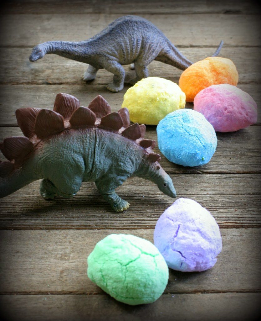dinosaur bath bombs