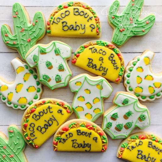 taco bout a baby cookies