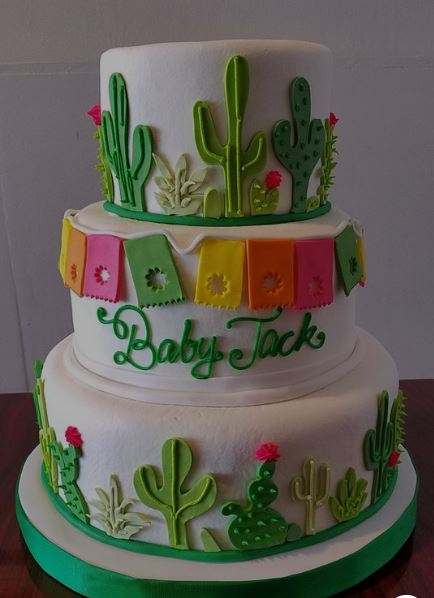 taco theme cake