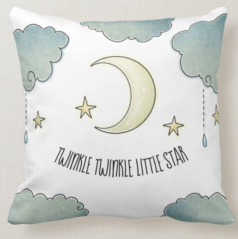 twinkle star pillow