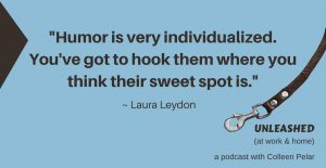 quote from Laura Leydon