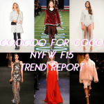 FAVORITE TRENDS FROM NYFW