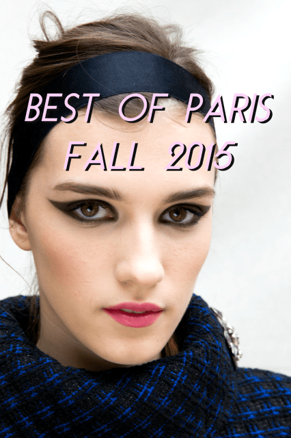 paris fashion week trends fall 2015
