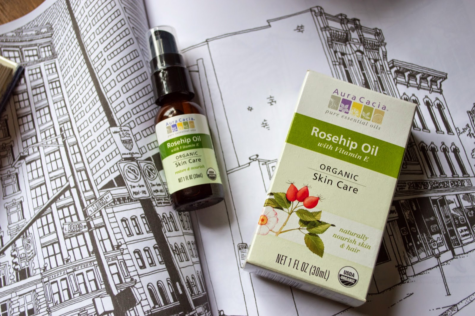 GIVEAWAY: AURA CACIA ROSEHIP OIL