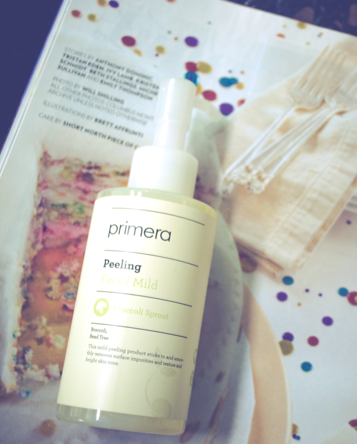 REVIEW: PRIMERA PEELING FACIAL GEL & PARCEL PUPPY