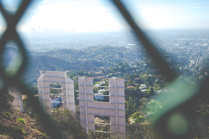 Hollywood sign hike hollyridge trail los angeles California coocoo for coco