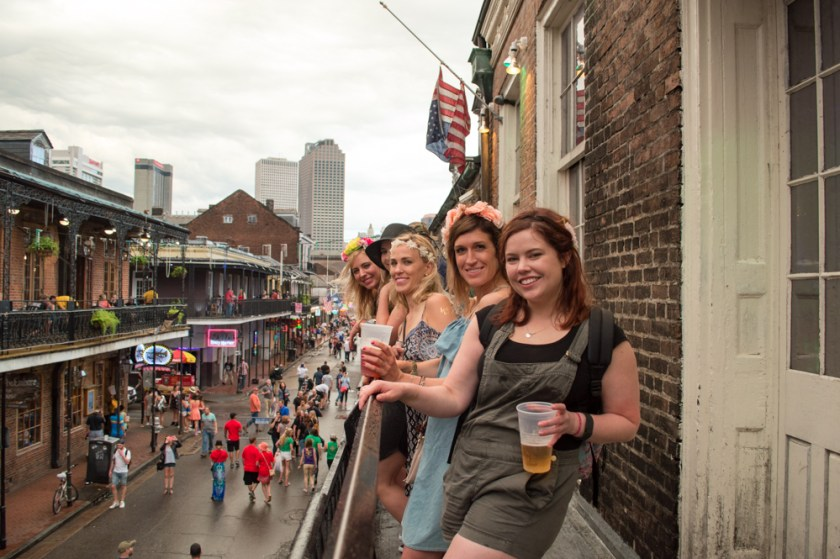 Bourbon Street Bachelorette Party New Orleans
