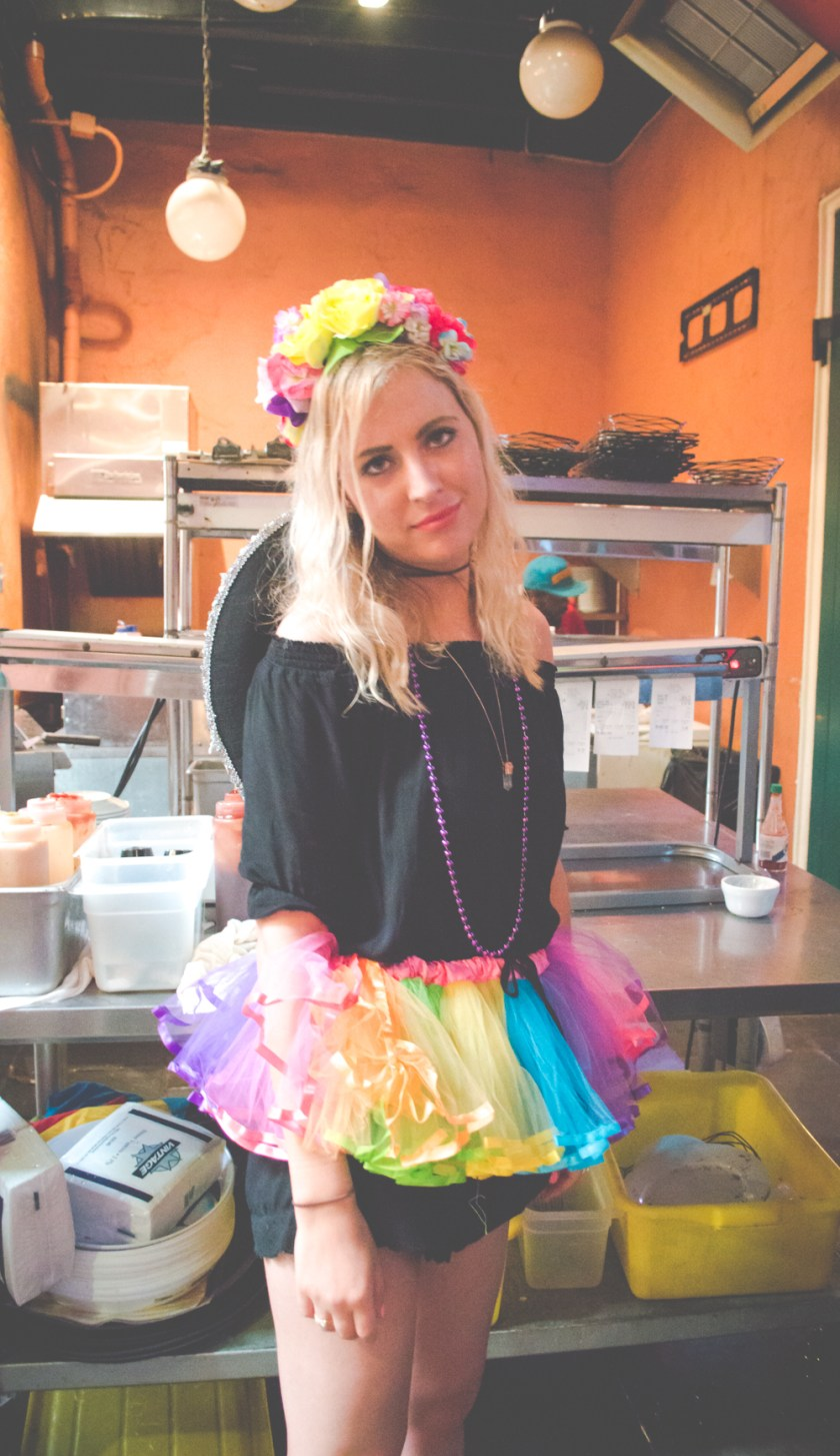 Rainbow Tutu Bachelorette Party