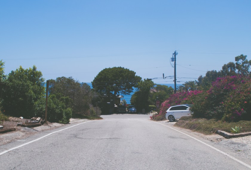 street in malibu california