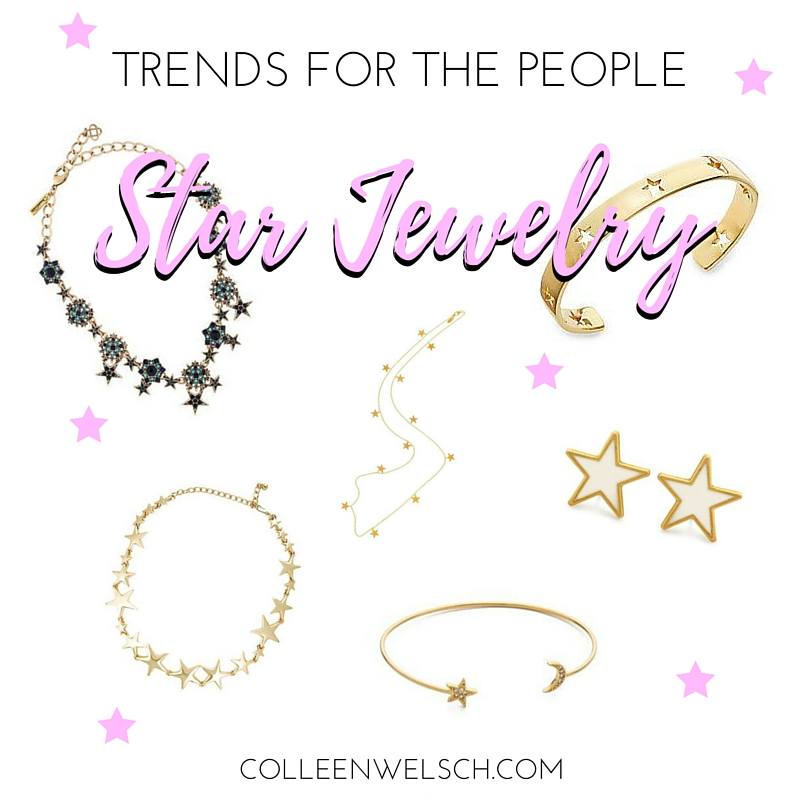 TRENDS FOR THE PEOPLE: STAR JEWELRY + LINK UP