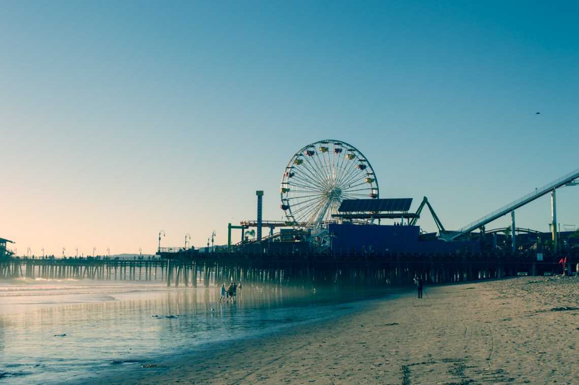 Los Angeles Bucket List Santa Monica Pier